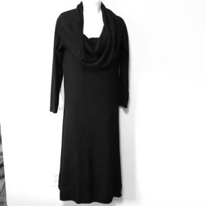 Soft Surroundings long black dress size Small 6–8